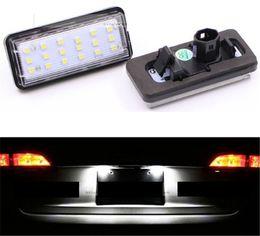 lexus levou luzes Desconto 2X Para Lexus GX470 LX470 LX570 Carro Branco License Plate Luzes Lâmpadas LED Define DEC L