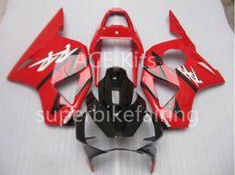 Wholesale fairing motorcycle honda 954 - 3 free gifts Motorcycle Fairing kit For HONDA CBR900RR 02 03 CBR 900RR 954 2002 2003 ABS Fairings set black Red AF12