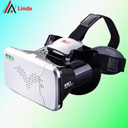 Occhiali da teatro virtuale privato online-All'ingrosso- RITECH Riem 3 Virtual Reality 3D VR Occhiali Head Theatre Private Theatre per smartphone da 3,5 - 6 pollici