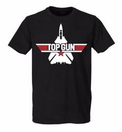 Wholesale Helmet Punk - Summer Top Gun Movie Men t-shirt Because I Was Inverted Maverick Helmet tee Punk Brand O Neck Short Sleeve Cotton Shirts t shirt