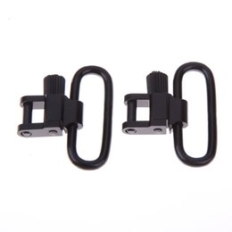 """Wholesale Hunting Gun Swivels - Tactical Quick Detachable 1"""" 1 Inch 25.4mm Hunting Rifles Guns sling Adapter Adjustable Button Holder Swivels with Quick Removable Bases Mou"""