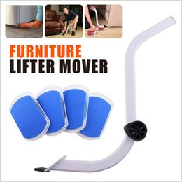 Wholesale Wholesale Kit Furniture - New Smartlife EZ Moves Reusable Furniture Moving System with Lifter For Heavy Furniture Moves Carpeted Surfaces Glide Moving Kit