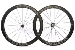 Wholesale U Wheels - NEW arrival,Rear wheel Asymmetrical 50mm clincher tubular Full carbon bike wheelset, ,700C road bike wheel,wider U shape rim