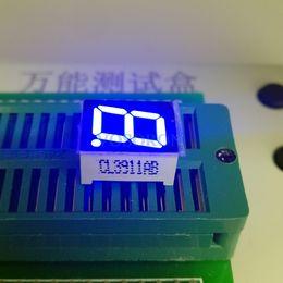 Cátodo de luz online-Venta al por mayor- Nuevo y original Common Cathode / Anode 1 Bit 0,39 pulgadas Digital Tube LED Display azul Light 7 Segmento 10pcs / lot