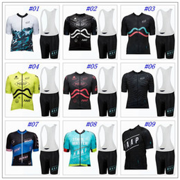Wholesale Cycling Woman Bibs Jersey - 2017 MAAP Cycling Jerseys Short Sleeves Summer Style For Men Women MTB Ropa Ciclismo Quick Dry Bike Wear Bib Pants XS-4XL 9 Colors