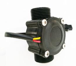 "Wholesale Hot Water Heaters Wholesale - Hot sale flow Sensor Flowmeter pool float switch indicator Counter for water heater fuel gauge 1-60L min G3 4"" DN20"
