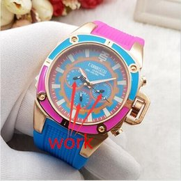 Wholesale Oval Watches - French Luxury brand high quality Technomarine Technosport watch Multifunctional quartz outdoor sports Marine version Unisex silicone watch