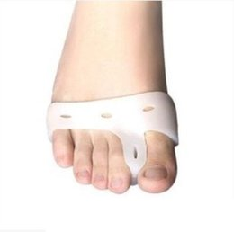 Wholesale Foam Thumb - Silicone Gel foot fingers Toe Separator thumb valgus protector Bunion adjuster Hallux Valgus Guard feet care H018