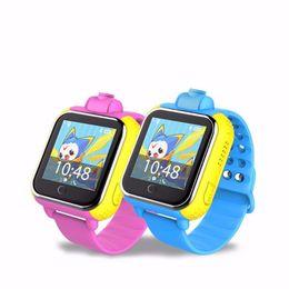 Wholesale Gprs 3g Camera - Smart Watch Kids Wristwatch Q730 3G GPRS GPS Locator Tracker Smartwatch Baby Watch With Nano Sim Card Camera For IPHONE8 IOS Android