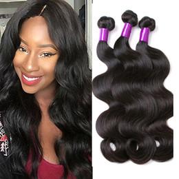 Wholesale Hair Weave Sale - Malaysian Body Wave Hair Bundles Brazilian Malaysian Indian Mongolian Raw Virgin Hair Bundle Sale 3 4 pcs lot Dyeable Cheap Human Hair Weave