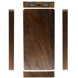 Wholesale Real Capacity Power Bank - Real Wood phone charger with 6000mAh capacity wooden power bank for mobile phone portable and high quality