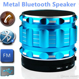 Wholesale Portable Mini Speakers For Laptop - Portable Wireless S28 Bluetooth Speakers Mini Hands Free Subwoofer With FM Radio Support TF Card Mp3 Player For Mobile Phones Laptop Tablet
