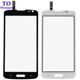 Wholesale Wholesale Replacement Mobile Phone Screens - Touch Screen For LG Series III L70 D325 D320 D321 Mobile Phone Touch Panel Sensor Digitizer Replacement Glass