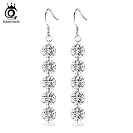 Wholesale Big Designs - ORSA JEWELS New Arrival Luxury Naked Austria Crystal Earring Big Fashion Jewelry Design Wholesale Jewelry OE54