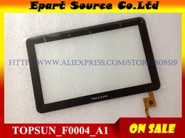 Terreno compressa online-All'ingrosso-A + TOPSUN_F0004_A1 Tablet da 10.1 pollici Tablet touch screen touch screen digitizer touch panel per MID