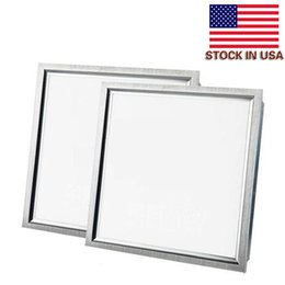 Wholesale Square led lamp X600mm White Frame Recessed Led Panel Ceiling Light W W K Cold White Led Lamp with UL FCC