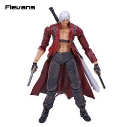 Wholesale Devil Cry Model - SQUARE ENIX Play Arts KAI Devil May Cry 3 Dante PVC Action Figure Collectible Model Toy 25cm