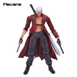 Wholesale Dante Figure - SQUARE ENIX Play Arts KAI Devil May Cry 3 Dante PVC Action Figure Collectible Model Toy 25cm
