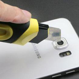 Objectifs de caméra de film en Ligne-Téléphone lentille de la caméra arrière HD protecteur d'écran pour S7 S6 bord A5 A9 arrière caméra lentille en verre Protecteur Film DHL libre BFM007