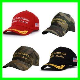 cappello d'oro viola Sconti Caldi cappelli da baseball di Donald Trump Cappelli da baseball regolabili del ricamo Caps americano repubblicano USA Presidente Trump Election Hat