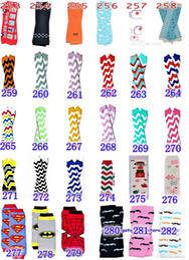 Wholesale Infant Socks Wholesale - 2016 New infant girls leopard zebra owl leg warmers baby boys chevron football skull leg warmers infant socks leggings 250style choose,melee