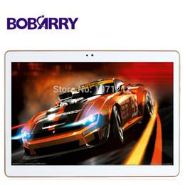 Tastiera di tavoletta gps online-All'ingrosso-BOBARRY Tablet pc K107SE 10,1 pollici Octa Core Ram 4GB Rom 64GB Tablet Android 5.1 Telefono 4G Chiamata Tablet PC bluetooth GPS + tastiera