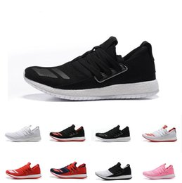 Wholesale Raw Canvas - 2016 Men Cheap Ultra Boost Pure Boost Raw Women Fashion Casual Shoes New Cheap Leather Skate Shoes Running Shoes Free Shipping