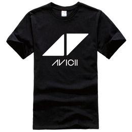 Wholesale Album Music - Dj Avicii Music Festival Tour Indie Rock Punk Album Band Printed Tee Shirt Unisex Fashion Women Men Short Sleeve Funny Shirt