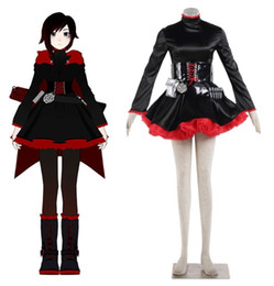 Wholesale Rwby Ruby Rose Costume - RWBY Ruby Rose cosplay Halloween Costumes