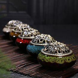 antike kupfer weihrauchbrenner Rabatt Celadon Keramik Buddha Weihrauch Kupferlegierung antike Weihrauch Räuchergefäß Sandelholz Kostenloser Versand
