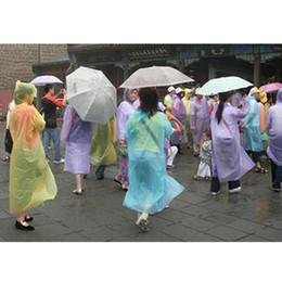 2019 batteria coreana Una volta Raincoat modo caldo monouso PE Impermeabili Poncho impermeabili Viaggi cappotto di pioggia Pioggia di usura Viaggi cappotto di pioggia trasporto libero