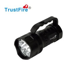 Wholesale Brightest Led Driving Lights - LED Light Outdoor Sports LED Flashlight 3800 Lumens Super Brightest 5 Mode 26650 Rechargeable Battery magnetic controlled dimming mode Torch