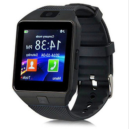 Wholesale Best Watch Mobile Phone - Best DZ09 Smart Watch dz09 Watches Wrisbrand Android iPhone Watch Smart SIM Intelligent Mobile Phone Sleep State Smart watch Retail Package