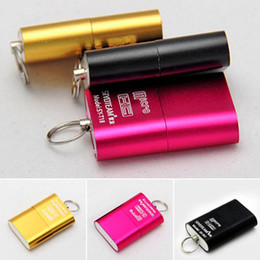 Wholesale Branded Usb Memory - Hot Brand High Speed USB 2.0 Micro SD TF T-Flash Memory Card Reader micro sd Adapter