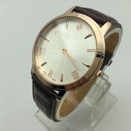 Wholesale Thinnest Waterproof Wrist Watch - 2017 New Christmas gift 5ATM waterproof Fashion luxury Brand Wrist watch Ultra Thin dial Casual Male Quartz atmos clock Man AAA Wrist Watch