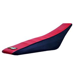 2019 partes de honda envío gratis El envío libre de DHL 25 sets plisado Seat dirt dirt parts Red y negro Para HONDA crf250 cr85 cr125 cr250 xr250 crf150 asiento partes de honda envío gratis baratos