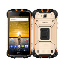 Wholesale Shockproof Android Gps - DHL Shipping Ulefone Armor 2 IP68 Waterproof Shockproof MTK Helio P25 Octa Core 6GB+64GB 5.0 inch FHD Android 7.0 4700mAh Smartphone