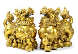 Wholesale China Pole - The opening of a large copper ornaments brave lucky feng shui office Home Furnishing crafts jewelry ornaments