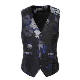 Wholesale Waistcoat For Men Sale - Wholesale- New Hot Sale Fashion Men Vest 2017 Waistcoat Man Waistcoat Blazer Gilet for Mens Chaleco Hombre Suit Vest