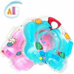 Anillo inflable de la nadada del cuello del bebé desde fabricantes