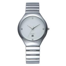 Wholesale Tungsten Diamond Watches - Original Luxury tungsten steel Watches Men Lovers Women Quartz Watch Diamond Gold Wrist Watch Clock Ladies Dress Watch Relogio Feminino