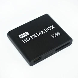 Wholesale Usb Hdd Drivers - Wholesale- Car Media Player, Digital Media Player HD Media Player HDMI FULL HD 1080P for USB Drivers, SD Cards, HDD, External Devices