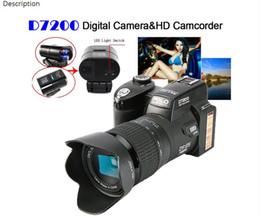Protax / POLO D7200 33MP 1080P цифровая камера DSLR камера корпус видеокамеры + светодиодный прожектор от Поставщики цифровые камеры dslr