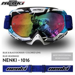 NENKI Lunettes Motocross Óculos de Moto Mulheres Homens Óculos de Proteção Da Motocicleta Óculos Off-Road Da Bicicleta Da Sujeira ATV MX BMX DH MTB Eyewear de