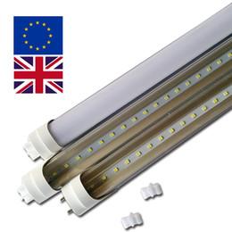 Tubos de la ue online-UK US EU T8 4Ft Tubo LED tubo t8 18W 22W SMD2835 G13 girado G13 base con tubos de sensor de radar regulable traci