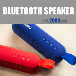 Wholesale Active Portable Speakers - 2018 New AIBIMY Active Speakers 2.0 Stereo Bluetooth Speakers Subwoofer high capacity 2000Mah Charge Bluetooth Speaker
