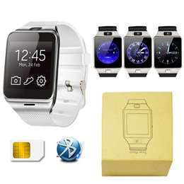 Wholesale White Kids Watches - DZ09 Smart Watch android GT08 U8 A1 Aamsung Smartwatchs SIM Intelligent mobile phone watch Sleep Tracker Camera Answer Call Passometer