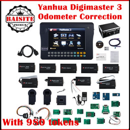 Wholesale Car Mileage Odometer Correction - Original YANHUA jpanases audi vag digimaster 3 digimaster iii car mileage odometer correction tool digimaster3 obd ii mileage correction