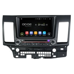 Wholesale Lancer Rear - 8inch HD Screen Android 5.1 Car DVD player for Mitsubishi Lancer with GPS,Steering Wheel Control,Bluetooth, Radio