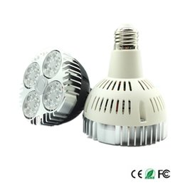 Wholesale 15 Degree Led - 35W PAR30 E27 LED bulbs for Project Tracking Light 15 Degree Beam Angle light bulbs with Osram SMD3030 led light bulbs